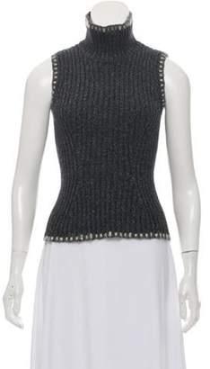 Christian Dior Medium-Weight Knit Turtleneck Grey Medium-Weight Knit Turtleneck