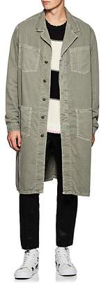 NSF Men's Cotton Twill Long Jacket