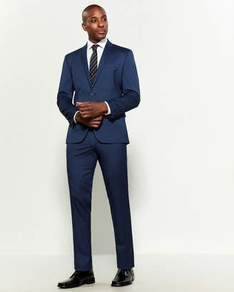Kenneth Cole Reaction Slim Fit Pin Dot Suit