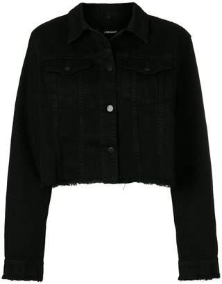 J Brand raw edge denim jacket