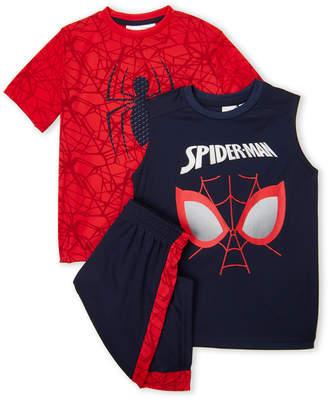 Spiderman Spider Man (Boys 4-7) 3-Piece Tee, Tank Top & Short Set