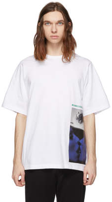 DSQUARED2 White Mert and Marcus 1994 Edition Slouch Fit T-Shirt