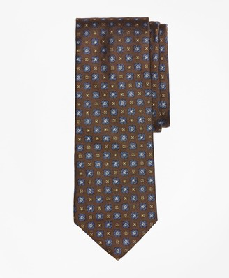 Brooks Brothers Flower and Diamonds Tie