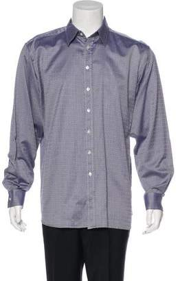 Burberry Woven Print Shirt
