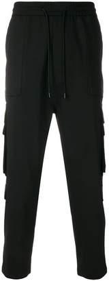 Juun.J cargo pocket track pants