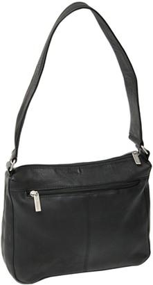 Royce Leather Vaquetta Sleek Shoulder Bag