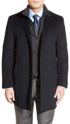 Hart Schaffner Marx Kingman Classic Fit Wool Blend Coat