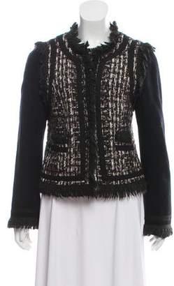 Tory Burch Wool-Blend Tweed Jacket