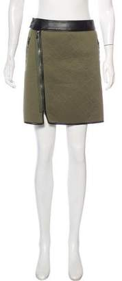 3.1 Phillip Lim Quilted Mini Skirt