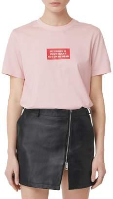 Burberry (バーバリー) - BURBERRY THE CROWN コットンジャージーTシャツ
