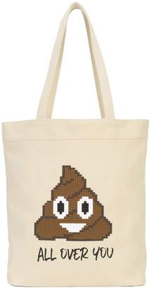 Mostly Heard Rarely Seen 8-Bit All Over You tote