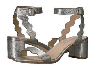 Loeffler Randall Emi Scallop Block Heel Sandal Women's Shoes
