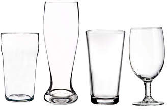 Home Essentials 4Pc Beer Glass Set