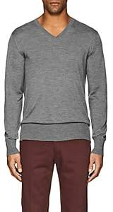 P. Johnson Men's Merino Wool Sweater - Gray