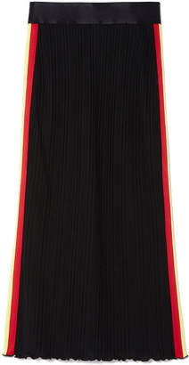 Ellery Dasha Stripe Rib-Knit Skirt