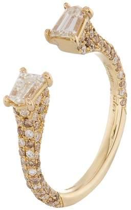 Susan Foster Yellow Gold Diamond Bullet Ring