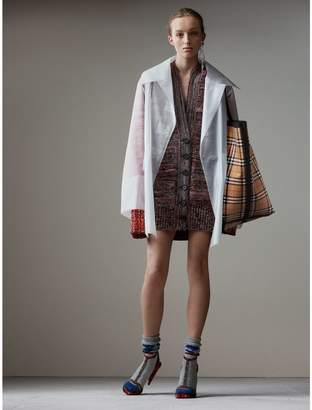 Burberry Soft-touch Plastic Oversized Car Coat