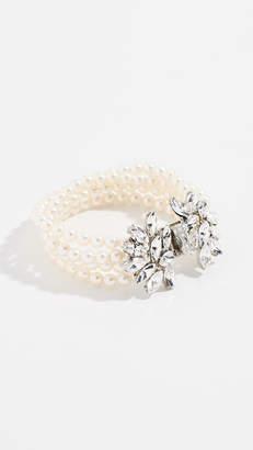Ben-Amun Four Strand Imitation Pearl Bracelet