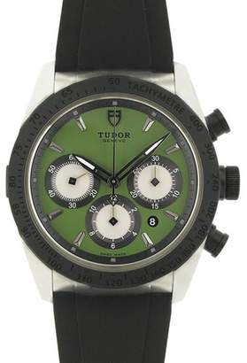 Tudor Fastrider Blackshield 42010N Stainless Steel 42mm Mens Watch