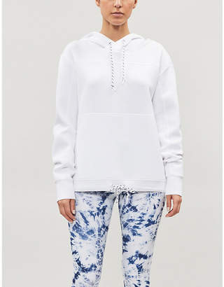 Lorna Jane Relaxed-fit stretch-jersey hoody