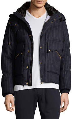 Moncler Stripe Wool Jacket