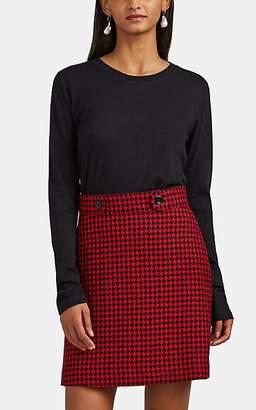 Barneys New York Women's Cashmere Jersey Long-Sleeve Shirt - Black
