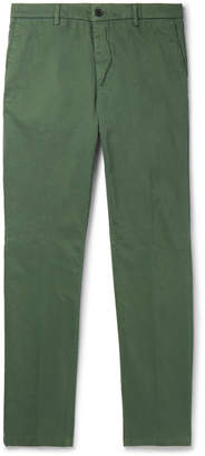 Altea Slim-Fit Tapered Stretch-Cotton Gabardine Chinos