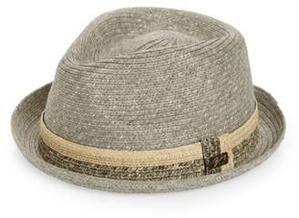 Bailey Pelly Straw Trilby