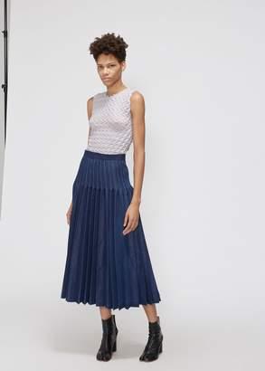 Junya Watanabe Denim Pleated Skirt