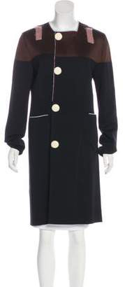 Sonia Rykiel Knee-Length Wool Coat