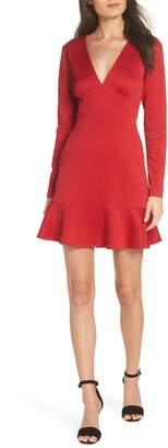 19 Cooper Long Sleeve Ruffle Hem Dress