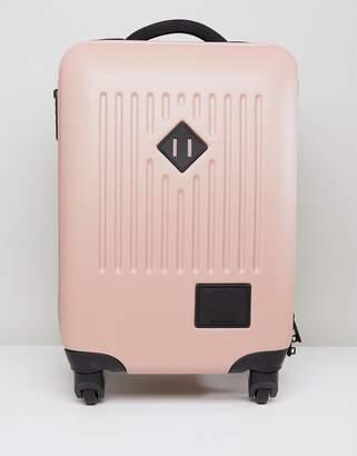 Herschel Hard Carry On Case In Pink
