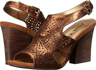 Anne Klein Women's Briella Leather Heeled Sandal