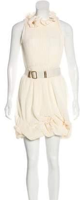 Fendi Silk Plissé Dress