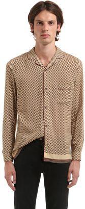 Fluid Viscose Pajama Shirt $210 thestylecure.com