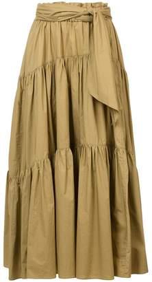 Proenza Schouler Long Cotton Skirt