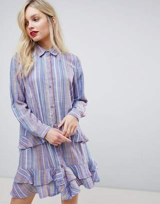 New Look Frill Shirt Dress