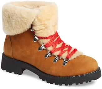 J.Crew Nordic Genuine Shearling Cuff Winter Boot
