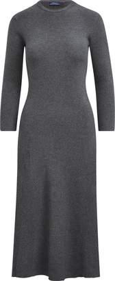 Ralph Lauren Cotton-Blend Midi Dress
