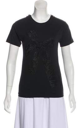 Lanvin Short Sleeve Scoop Neck T-Shirt