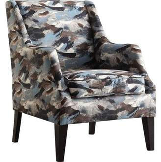 Acme Zarate Fabric Club Chair, Multiple Patterns