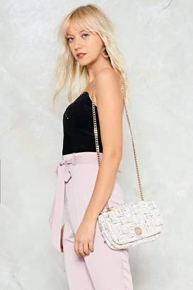 Nasty Gal WANT Fault Line Crossbody Bag