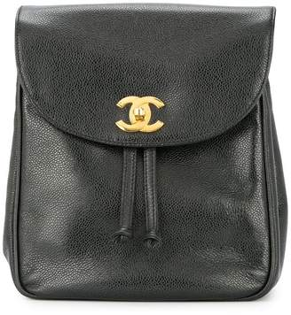 Chanel Pre-Owned CC chain backpack