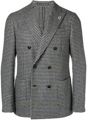 Lardini patterned blazer