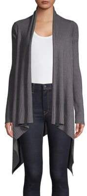 INC International Concepts Varsity Asymmetrical Cardigan