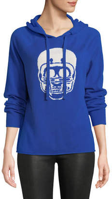 360 Sweater 360Sweater Collegiate Skull Cashmere Hoodie Sweater