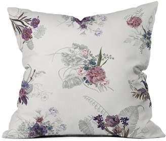 Deny Designs Iveta Abolina French Countryside Cream Throw Pillow