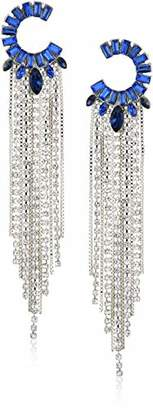 GUESS Statement Ears Women's Post Drop Earrings with Stones