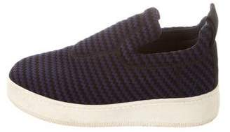 Celine Flatform Slip-On Sneakers
