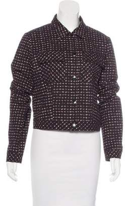 Tomas Maier Patterned Collared Jacket w/ Tags